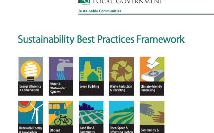 Sustainability Best Practices Framework